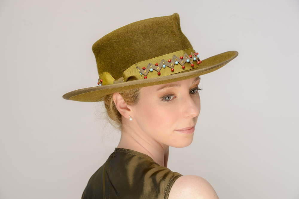 Lifting the hat box lid to reveal a new millinery website!